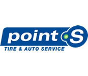 Point S Tire and Auto Sponsor Logo